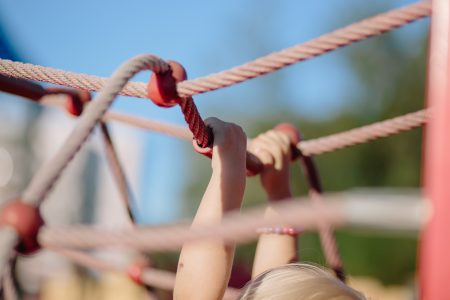 Playground ropes - free stock photo