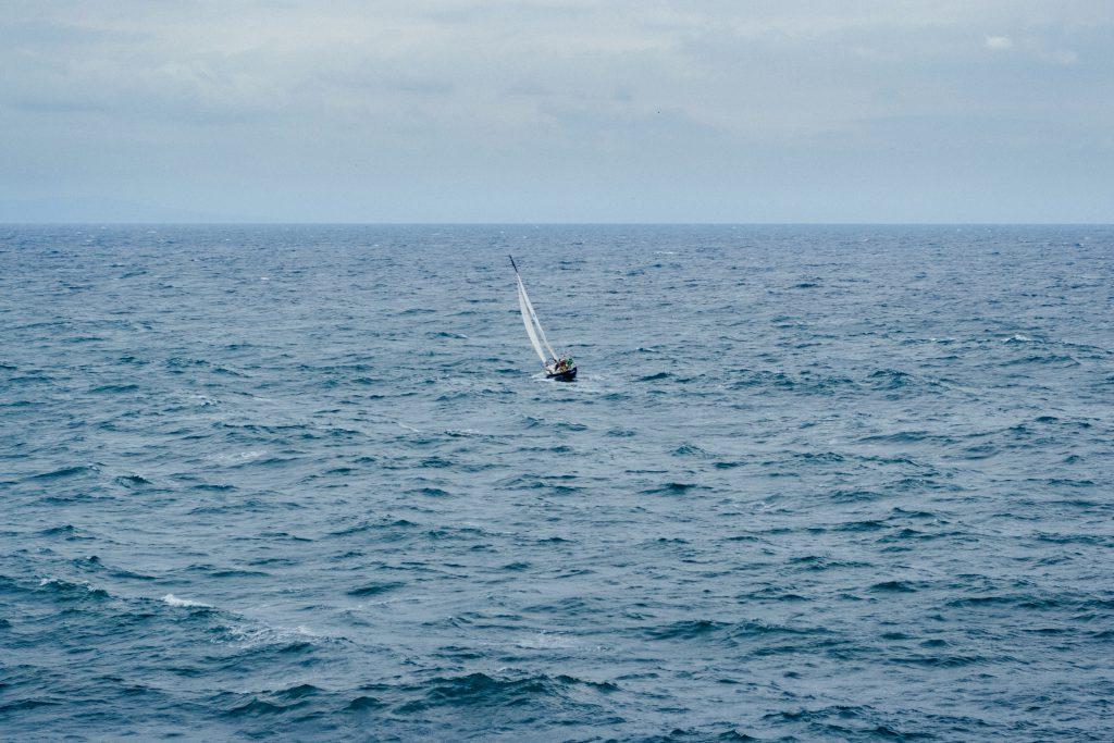 Small sailing boat - free stock photo