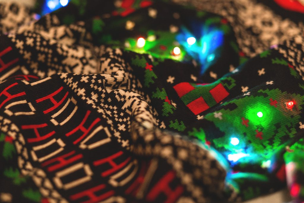 Christmas sweater - free stock photo