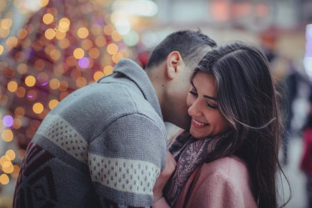 Christmas tenderness - free stock photo