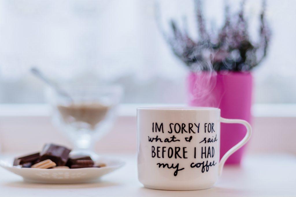 Coffee apology - free stock photo