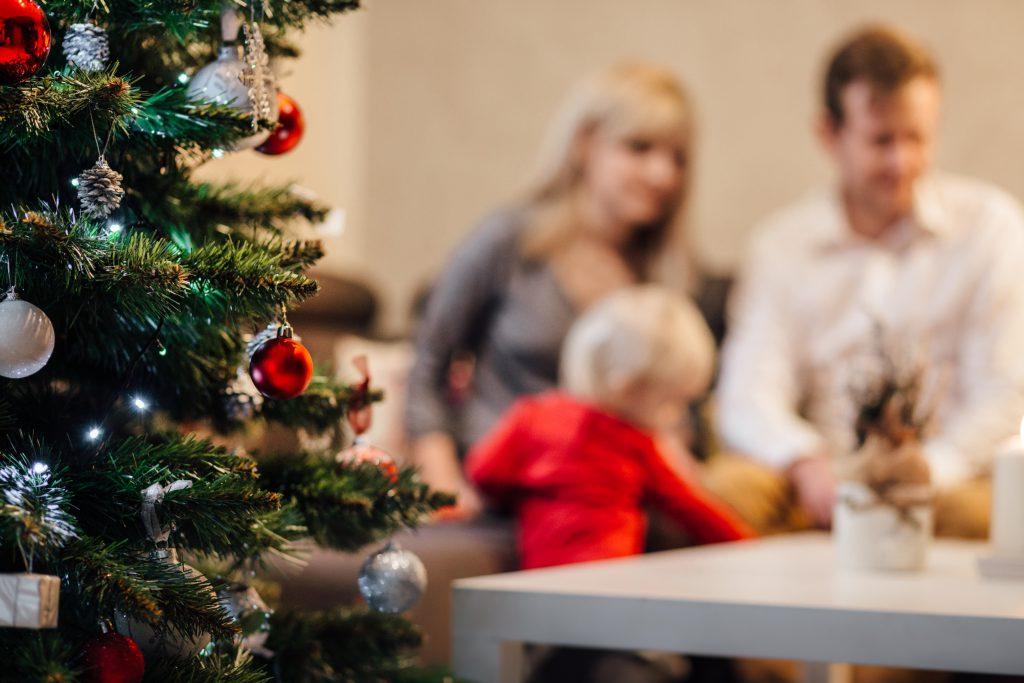 Family Christmas - free stock photo