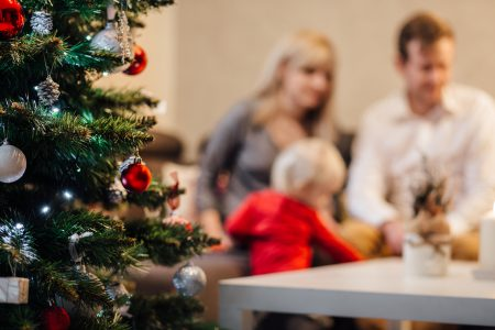 Family Christmas - free stock photo