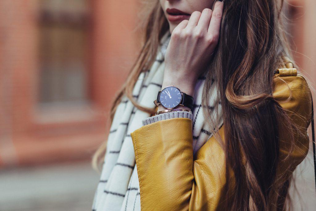 Female black watch - free stock photo