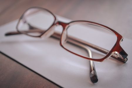 Reading glasses - free stock photo
