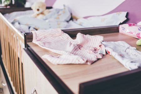 Baby crib furniture - free stock photo