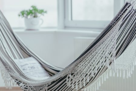 Indoor hammock - free stock photo