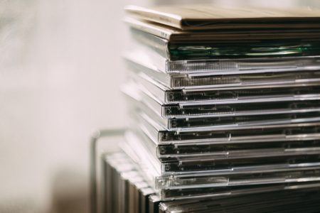 CD albums - free stock photo
