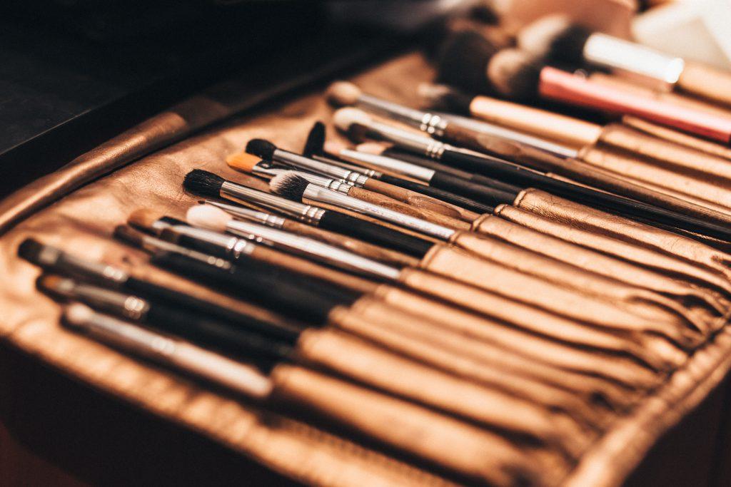 Makeup brush set 2 - free stock photo