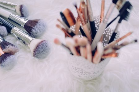 Makeup brushes - free stock photo