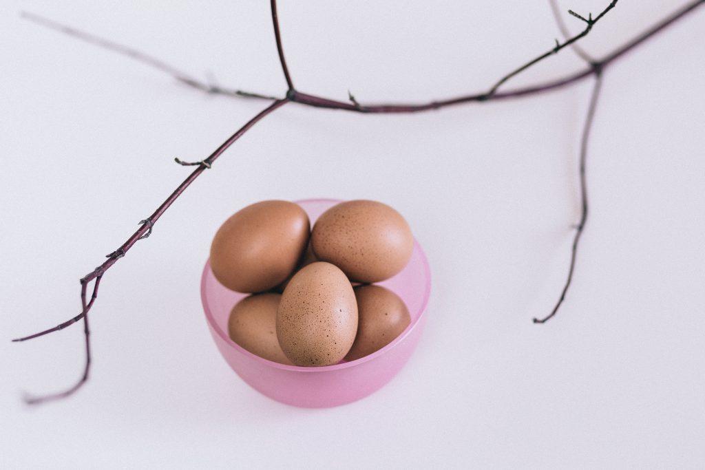 Easter eggs - free stock photo
