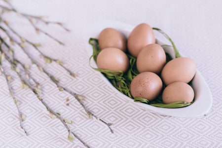 Easter eggs 2 - free stock photo