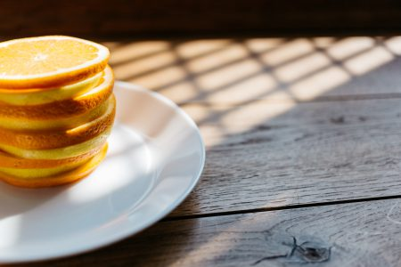 Orange and lemon slices 2 - free stock photo