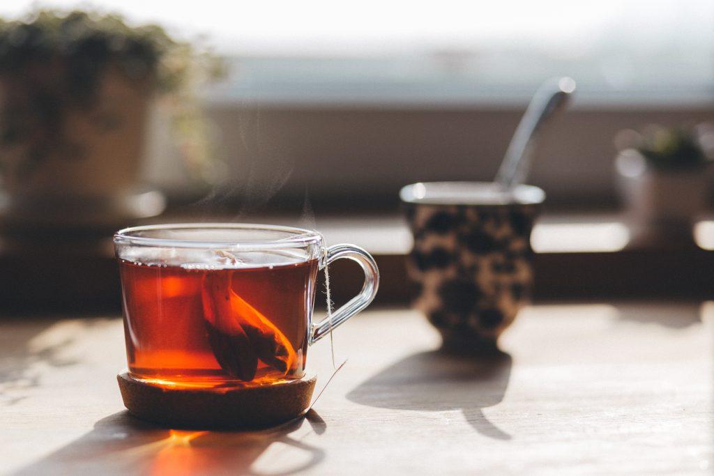 Tea on the countertop - free stock photo