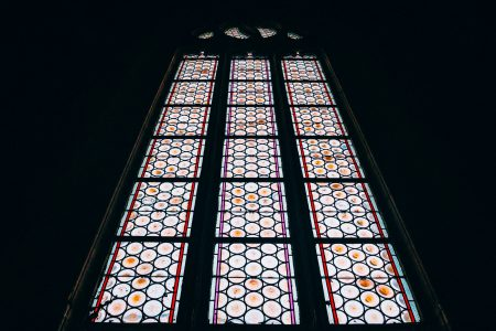 Church window - free stock photo