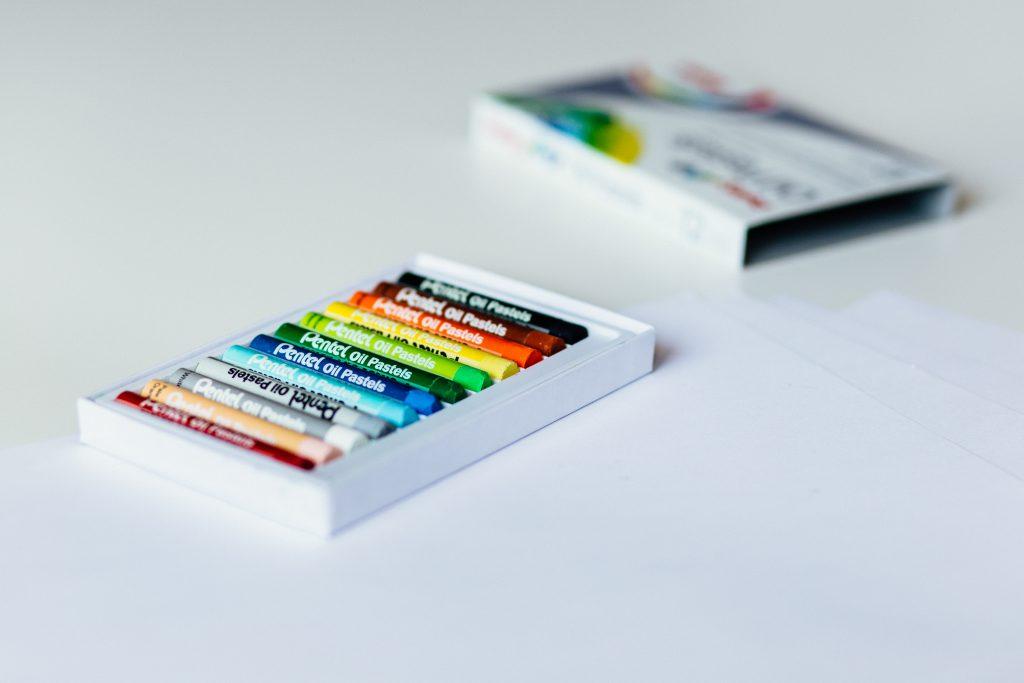 Crayons 3 - free stock photo
