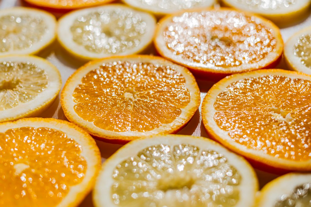 Orange and lemon slices 3 - free stock photo