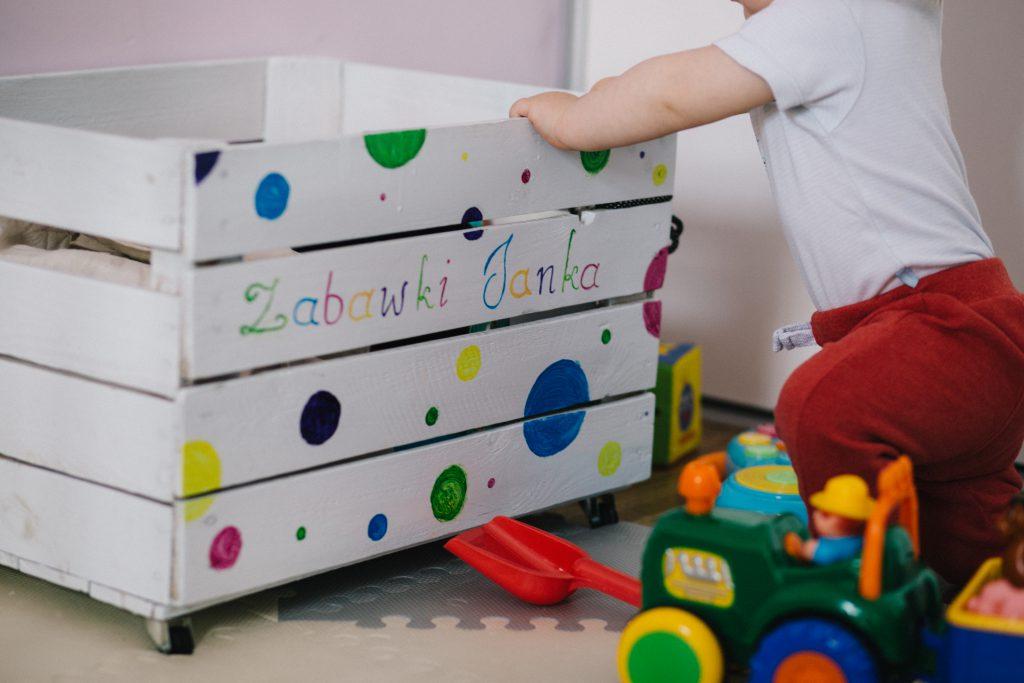 Personalized toy box 2 - free stock photo