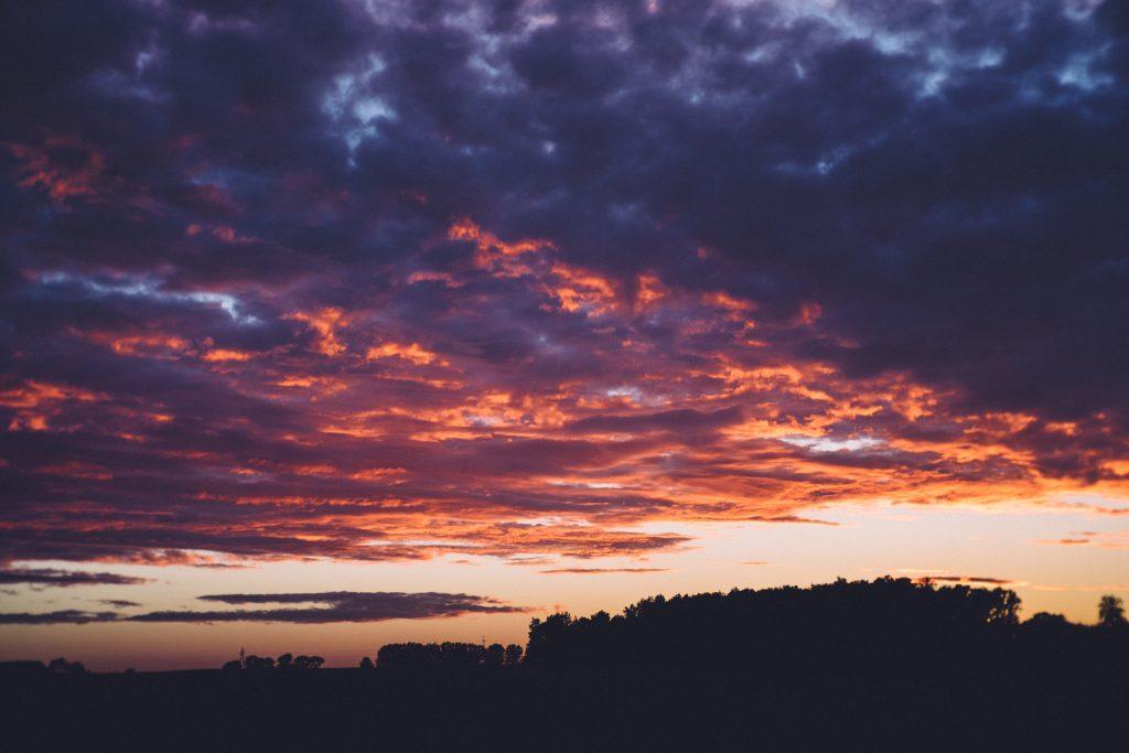 Late sunset 3 - free stock photo