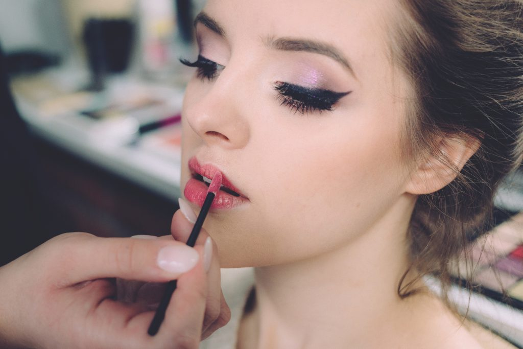 Beauty photoshoot makeup 2 - free stock photo