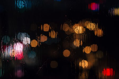 Rain bokeh 2 - free stock photo