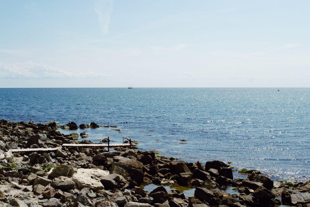Black Sea shore - free stock photo