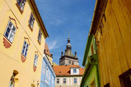 Sighisoara Old Town - free stock photo