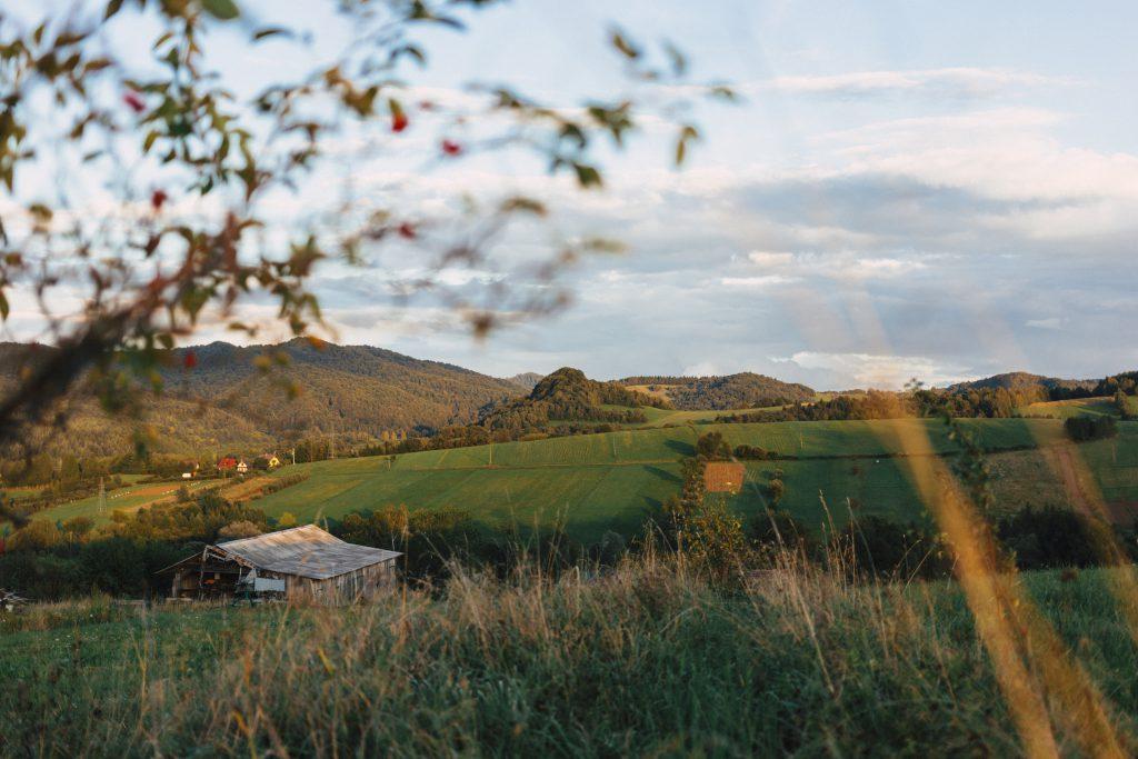 Fields in Bieszczady Mountains 3 - free stock photo