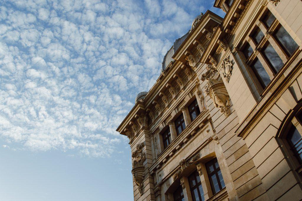 A renaissance building - free stock photo