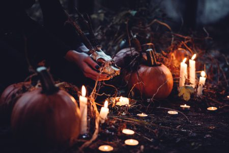 Spooky halloween scene 2 - free stock photo