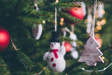 Christmas tree decoration 2 - free stock photo