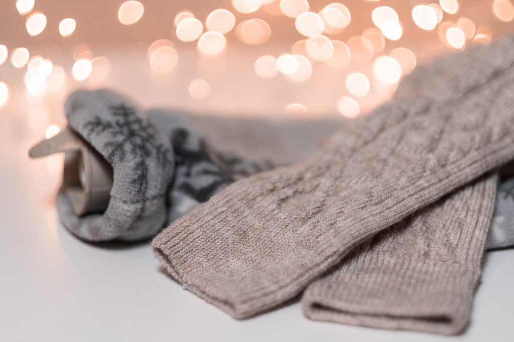 Chilly person Christmas starter pack - free stock photo