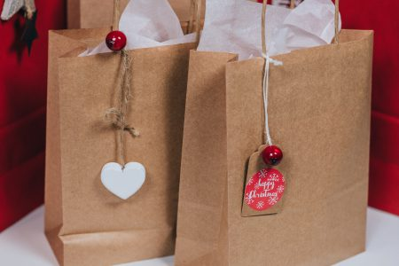 Christmas gifts in bags 2 - free stock photo