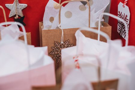 Christmas gifts in bags 3 - free stock photo