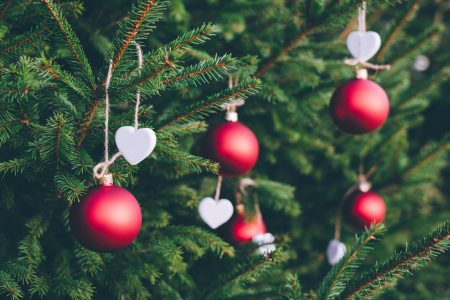 Christmas tree decoration 3 - free stock photo