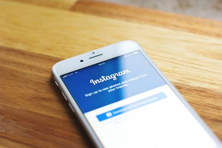 Instagram login screen on iPhone 6s - free stock photo