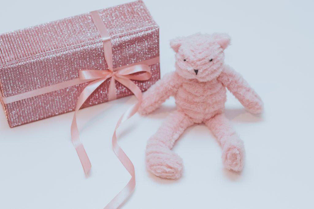 Pink teddy bear 2 - free stock photo