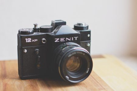 Analog Zenit camera - free stock photo