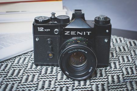 Analog Zenit camera 2 - free stock photo
