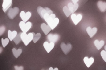 Heart shaped bokeh 3 - free stock photo