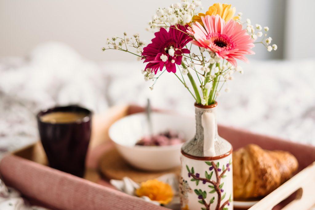 Breakfast in bed 10 - free stock photo