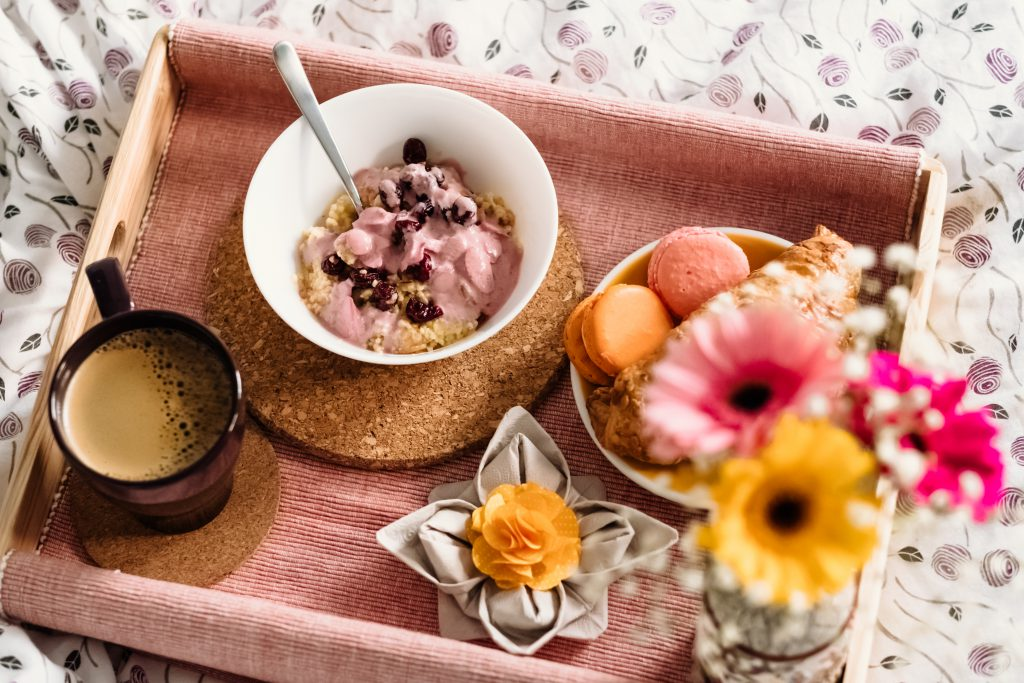 Breakfast in bed 11 - free stock photo