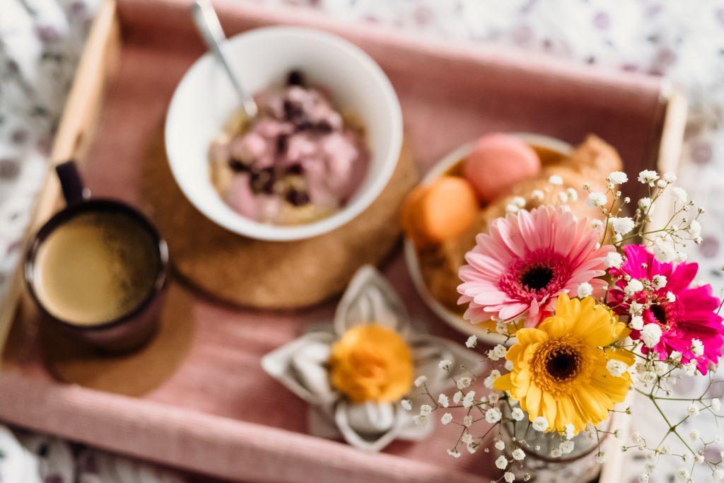 Breakfast in bed 12 - free stock photo