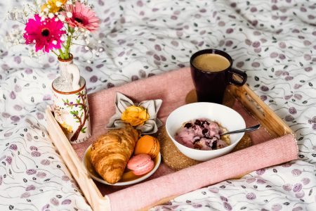 Breakfast in bed 2 - free stock photo