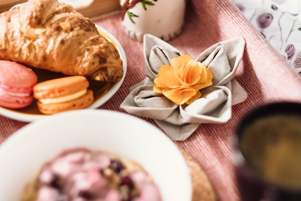 Breakfast in bed 4 - free stock photo