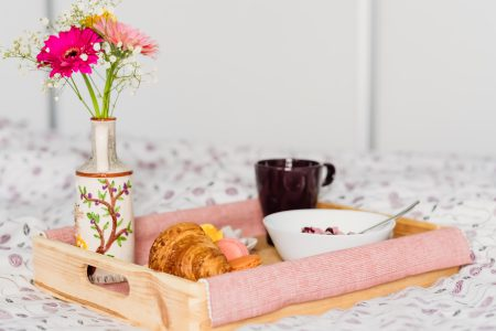 Breakfast in bed 5 - free stock photo