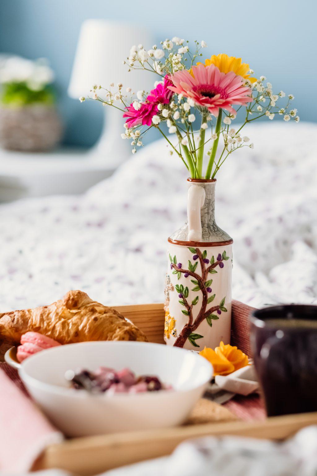 Breakfast in bed 6 - free stock photo