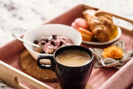 Breakfast in bed 7 - free stock photo