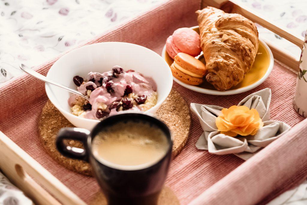 Breakfast in bed 8 - free stock photo