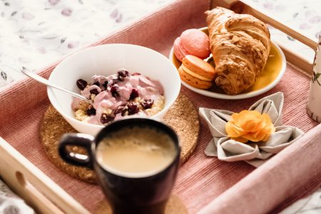 Breakfast in bed 8 - free stock photo